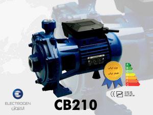 الکتروپمپ الکتروژن مدل CB210 – پمپ آب بشقابی گریز از مرکز دو اسب