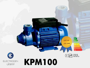 الکتروپمپ الکتروژن مدل KPM100 – پمپ آب محیطی یک اسب