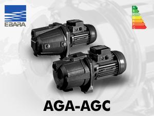 الکتروپمپ خودمکش ابارا مدل AGA-AGC