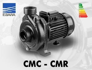 الکتروپمپ سانتریفیوژ ابارا مدل CMC-CMR چدنی تک پروانه