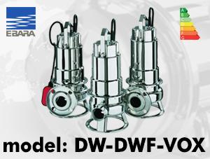 الکتروپمپ ابارا مدل DW-DWF VOX ebara