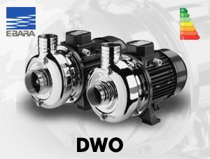 الکتروپمپ سانتریفوژ ابارا مدل DWO – استیل پروانه باز