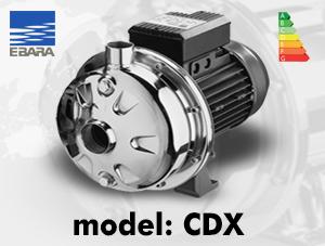 الکتروپمپ ابارا مدل CDX – استیل تک پروانه