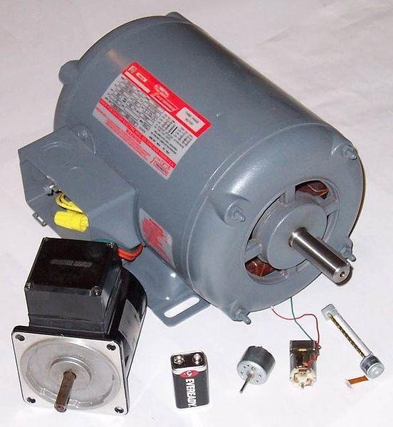 الکتروموتور - موتور الکتریکی