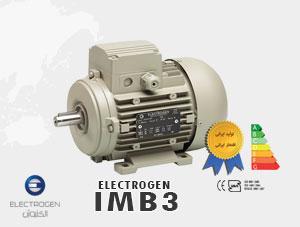 الکتروموتور الکتروژن مدل IMB3 سه فاز – الکتروموتور – نماینده رسمی