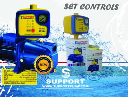 ست کنترل پمپ آب – ارائه دهنده و تامین کننده ست کنترل SUPPORT